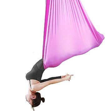 Hamaca para yoga aérea Hamaca para yoga para interiores ...