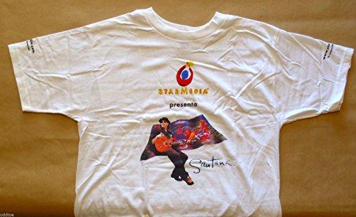 oddtoes concert posters and music memorabilia Santana T Shirt - 1999-2000 Supernatural Tour ()
