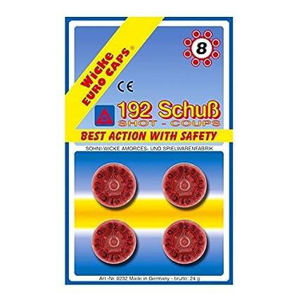 FASCHING 59115 Munition 8er 96 Schuss NEU//OVP