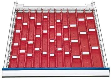 Schubladeneinsätze schubladeneinsatz serie 500 muldenplatten mit mulden