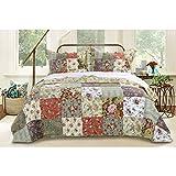 Blooming Prairie Bedspread Set Size: Full