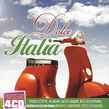 Coffret 4 CD : Dolce Italia: Multi-Artistes, Viola Valentino: Amazon ...