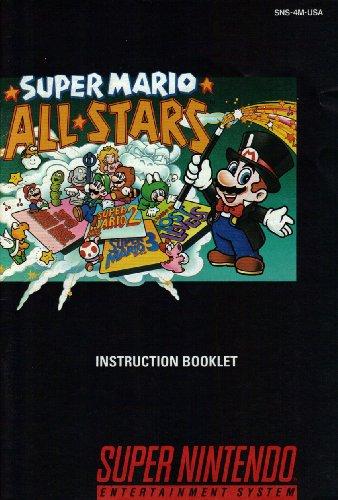 Super Mario All-Stars SNES Instruction Booklet (Super Nintendo Manual Only) (Super Nintendo Manual) - Super Nintendo Snes Manual