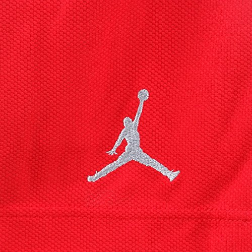 Jordan Mens Prime Shorts Palestra Rosso / Argento Opaco