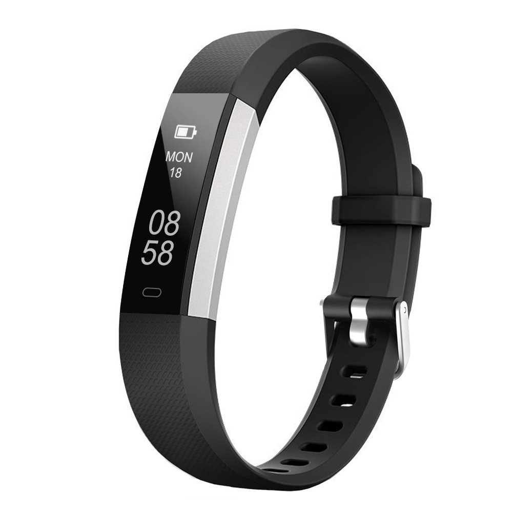 Letscom Fitness Tracker, Activity Tracker Watch With Sleep Monitor, Step Counter, Calorie Counter, Waterproof Slim Pedometer Watch For Kids Women And Men, I Os And Android by Amazon