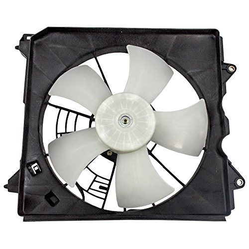 Drivers Denso Type Radiator Cooling Fan Motor Assembly Replacement for 2008-2010 Honda Accord 2.4L 19020-RWP-J51 AutoAndArt