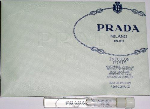 Prada Milano Infusion D'iris Eau De Parfum 1.5 Ml .05 Oz Free Shipping