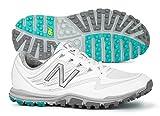 New Balance Women's Minimus Sport Golf Shoe, White, 8.5 B B US
