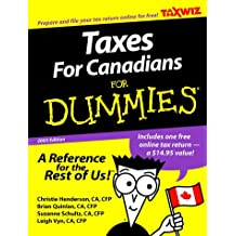 Taxes For Canadians For Dummies 2003 Edition