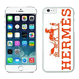 Hermes iPhone 6 Cases 27 White 4.7 inches for iPhone 6