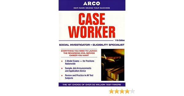 arco case worker social investigator eligibility specialist rh amazon com