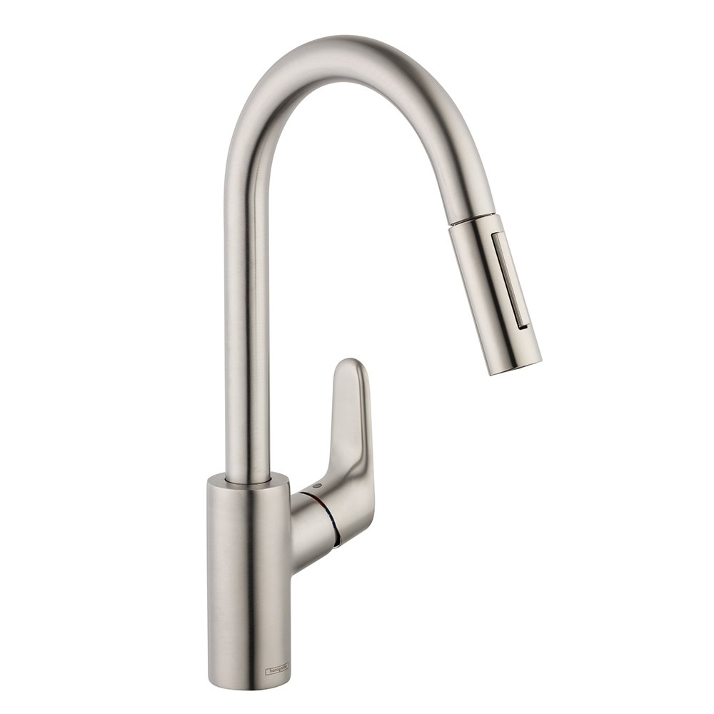 kitchen sink amazon hg higharc faucets faucet w allegro canada hansgrohe dp touch pulldown on e focus