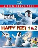 Happy Feet / Happy Feet Two [Blu-ray] [2012] [Region Free]