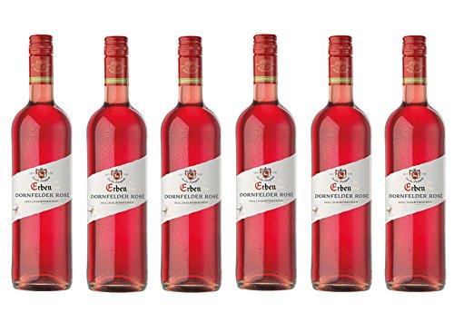 Erben Dornfelder Rosé halbtrocken (6 x 0.375 l)