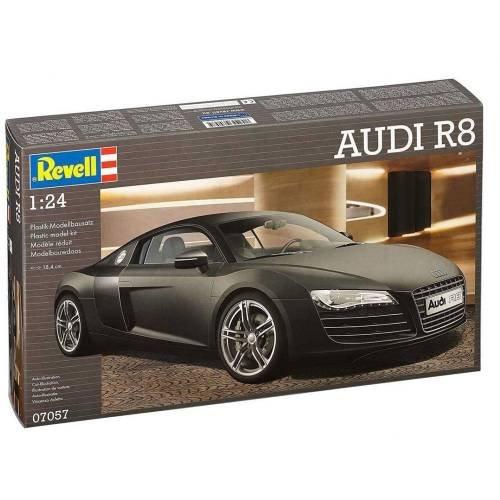Revell 07057 - Maquette De Voiture - Audi R8 - 106 Pièces - Echelle 1/24