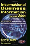 International Business Information on the Web, Shari R. Lanza, 0910965463