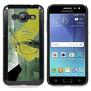 Walter Doctor Meth Caja protectora de pl??stico duro Dise?¡Àado King Case For Samsung Galaxy J2