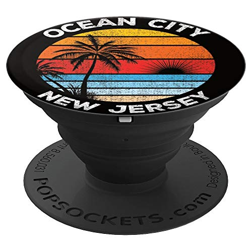 Vintage Ocean City New Jersey Souvenir Beach PopSockets Grip and Stand for Phones and - Nj Jersey City