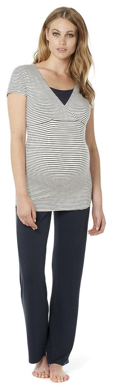 Schlafanzug Samira - 2 in 1 Noppies Umstandsschlafanzug Sleep Shirt + Hose Pyjama Nachtwäsche Still- Pyjama