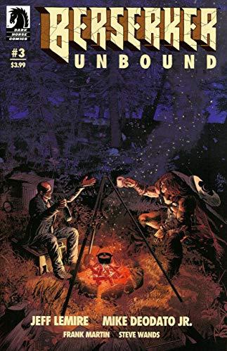 Berserker Unbound (2019) #3 VF/NM Mike Deodato Jr. Jeff Lemire Dark Horse Comics