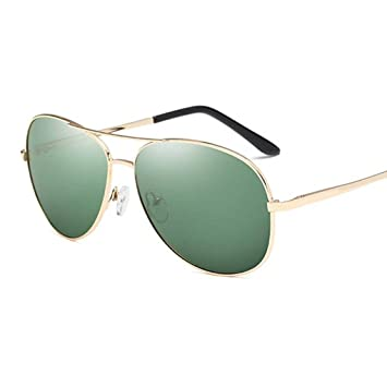 fish Coolsir Hombres Conducción Pesca Gafas de Sol Retro piloto Protector Solar Gafas de Sol polarizadas de Metal Ligero Eyewear Frame: Amazon.es: Deportes ...