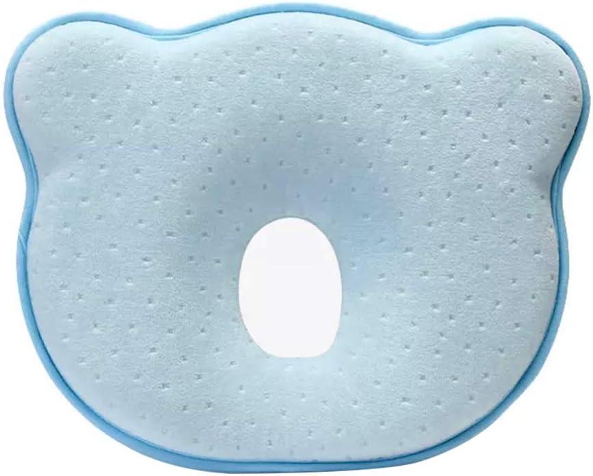 avec contre la d/éformation de la t/ête plate Forme de forme petit oreiller b/é taie doreiller oreiller b/éb/é oreiller orthop/édique pour b/éb/é IWILCS oreiller b/éb/é contre t/ête plate