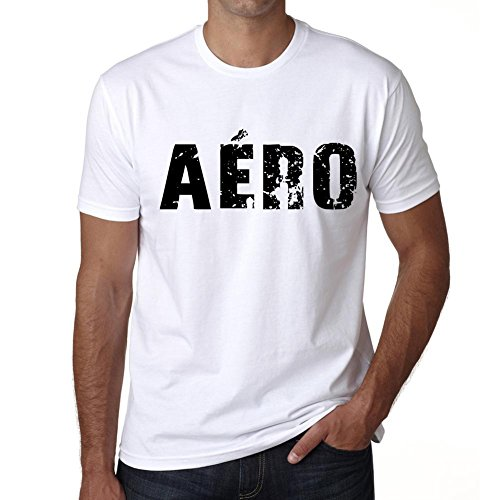 One in the City Men's Vintage Tee Shirt Graphic T Shirt Aéro X-Large