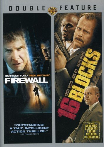 DVD : Firewall & 16 Blocks (Subtitled, Dubbed, Dolby, AC-3, Widescreen)