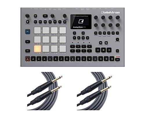 Elektron Analog Rytm MKII Stereo Sampler Sequencer Drum Machine + Mogami Cables