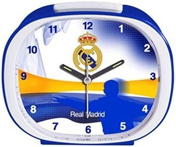 Seva - Real Madrid Despertador Himno 13x11 cm: Amazon.es: Juguetes y juegos