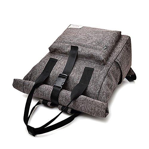 FangYOU1314 Bolso de hombro impermeable Bolso de estudiante de secundaria Bolso de nylon de nylon para mujer Viento femenino del campus