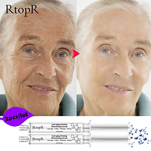 Mist Q10 Water - Birdfly 2pcs Protein Hyaluronic Acid Liquid Essence Moisturizing Wrinkle Anti Aging Collagen 100% Natural Firming Serum Replenishing Water