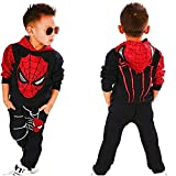 2Piece Toddler Kids Baby Boys Spiderman Outfits