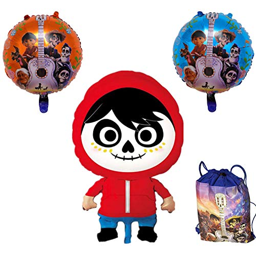 Coco Miguel Birthday Party 18 Inches Balloon Halloween Supplies Decorations