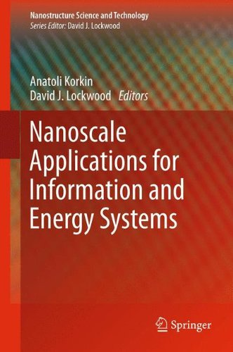 Nanoscale Applications for Information and Energy Systems (Nanostructure Science and - Uk Optics Salt