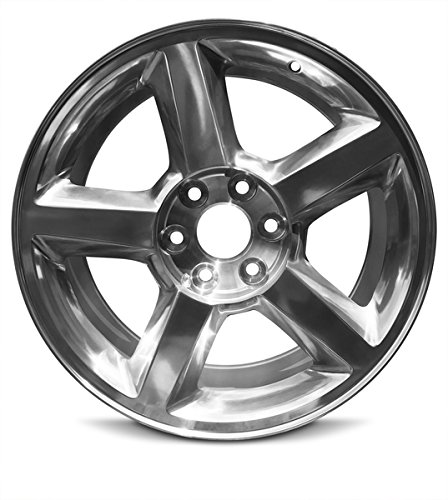 Road Ready Car Wheel For 2007-2009 Chevrolet Avalanche 1500 Silverado 1500 Suburban 1500 Tahoe 20 Inch 6 Lug Silver Aluminum Rim Fits R20 Tire - Exact OEM Replacement - Full-Size Spare (20 Inch Silver Wheels)