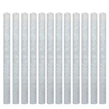 CozYours Mechas de fibra de vidrio PARA ANTORCHA TIKI, 25 cm, 12 pzs;