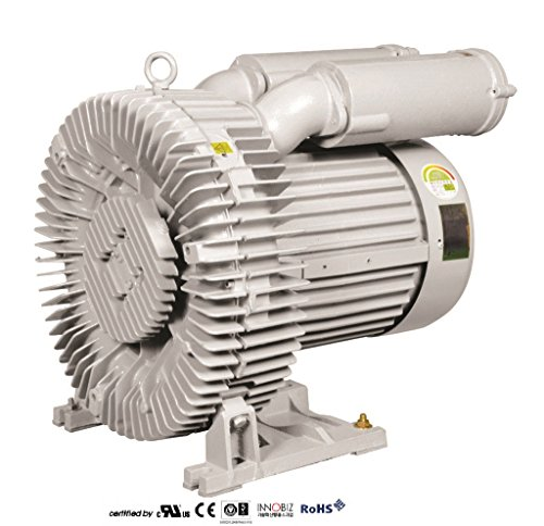 Pacific Regenerative Blower PB-1000 (HRB-1000), Ring, Side Channel, Vacuum Pressure Blowers. by PACIFIC BLOWERS