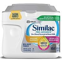 Similac Pro-Advance Non-GMO Fórmula infantil con hierro, con 2'-FL HMO, para Apoyo inmunitario, Fórmula para bebés, Polvo, 23.2 oz