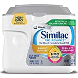 Similac Pro-Advance Non-GMO Infant Formula with Iron, with 2'-FL HMO, for Immune Support, Baby Formula, Powder, 23.2 oz: more info
