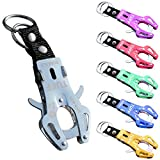 10 Pcs Tiger Hook Lock Carabiner Clip, Od-sprt Outdoor Survival Hook Buckle - Portable Tiger Keychain,Quick Release Ring,Hiking Key Bag Lock Tools Random Color