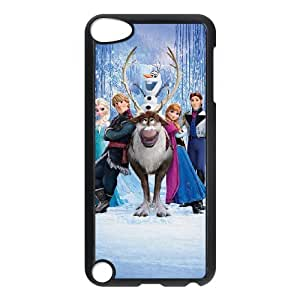 [Tony-Wilson Phone Case] FOR Ipod Touch 5 -IKAI0446970-Frozen Forever,Snow Queen and Olaf