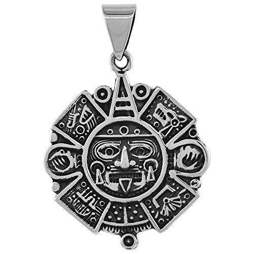 Sterling Silver Calendar Pendant Handmade