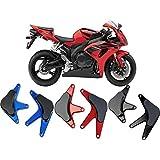 Motorcycle CNC Aluminum Engine Crash Guard Side Protector Stator Cover Frame Slider for 2008-2011 Honda CBR1000RR CBR 1000RR CBR 1000 RR 2009 2010 (Black)