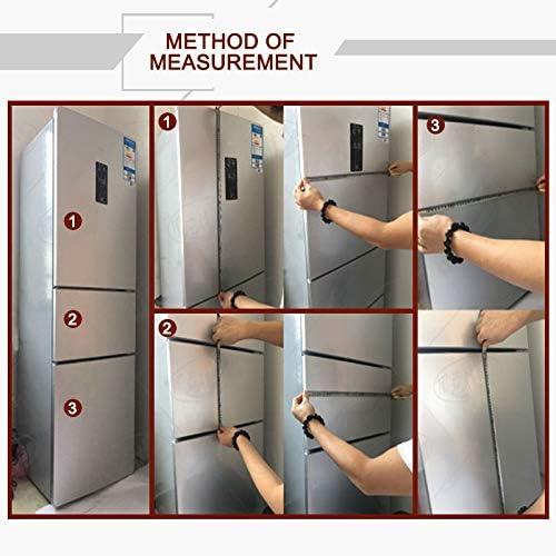 Lorenory Vinilo frigorifico Creativa Patrón Nevera engomada del PVC Puerta del refrigerador de la Cocina Autoadhesivo Pared Pegatinas decoración (Color : 60x180cm): Amazon.es: Hogar