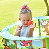 Sunny Days Entertainment Zoo Adventure Ball Pit – Indoor Pop Up Play Tent Toy for Kids and Toddlers | Colorful Balls Included