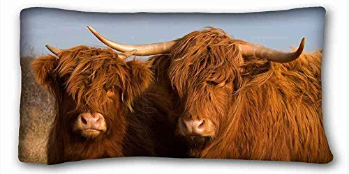 JHDHVRFr Soft Pillow Case Cover (Animal Cow) Pillow Covers Bedding...