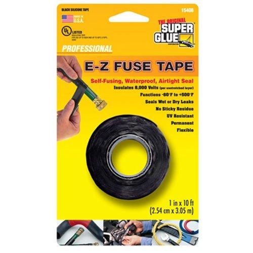Easy Fuse (Super Glue 15408 E-z Fuse Silicone Tape, 10 Ft)