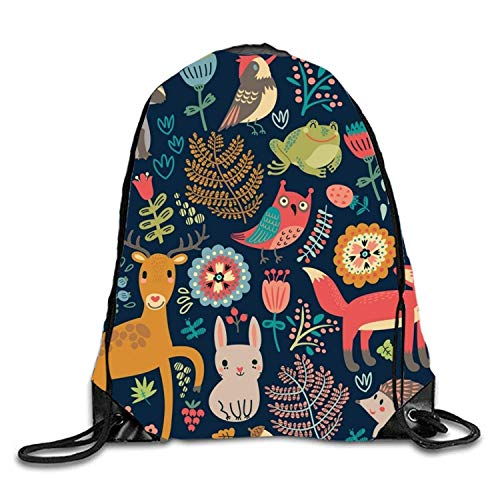 (SDtaiantaishans Poison Frogs Sackpack Drawstring Backpack Waterproof Gymsack Daypack For Men Women)