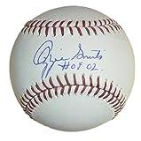 Ozzie Smith Autographed St Louis Cardinal OML Baseball HOF JSA